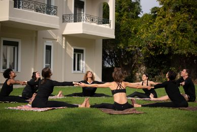 Hatha Yoga Docententraining 200 RYT in de Yoga Skyros Academy Griekenland