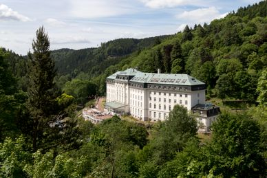 Kuurhuis Radium Palace Tsjechië