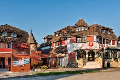 Hotel Piroska Hongarije