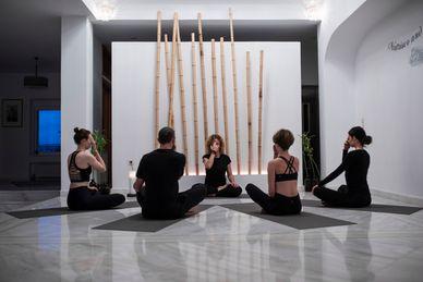 Hatha Yoga Docententraning 500 RYT in de Yoga Skyros Academy Griekenland